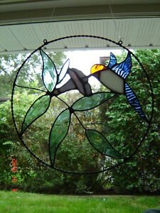 Stained glass Hummingbird ring Kingston Kingston Area image 2