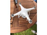 DJI Phantom 3 Advanced with 3 Batteries and Case