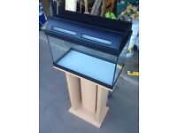 Fish Tank 35 Litre with beech wood stand
