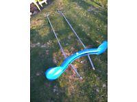 Double swing glider