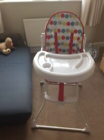 High Chair as New