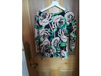 Avoca floral top
