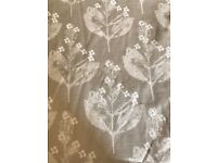 Fully lined Laura Ashley Curtains 7 foot height 4 1/2 feet width