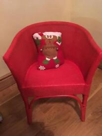 Child's Christmas chair!!!