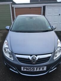 Vauxhall CORSA 1.4 Twinport Design with hands free Parrot.