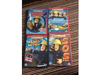 Fireman sam kids DVD bundle