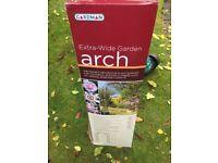 Gardman Extra Wide Garden Arch - three available