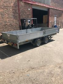 """Ifor Williams Trailer 14'2"""" Ft x 6'"""" - Year Old / Good Condition"""