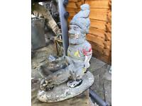 Garden gnomes vintage stone for sale