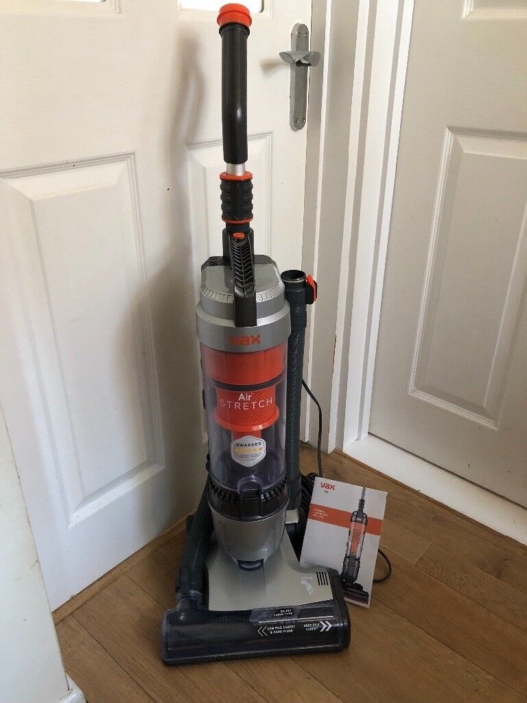 New With Box Vax Air Stretch Bagless Upright Vacuum