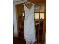 Ivory wedding dress, classic design, size 8 - Jasper Conran