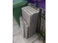 Free paving slabs 4x 3by2 and 4 2by2