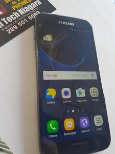 Unlocked Samsung Galaxy S7 32G Like New Only 550$ At CellTechNiagara Call Us Now! 289 501 6099
