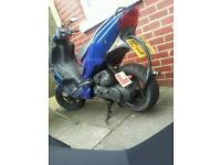 50cc Peugeot Speedfighter 2 70cc reg as 50