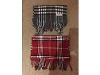 2 brand new men scarf