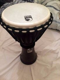 Toca Freestyle II Djembe drum, 10 inches