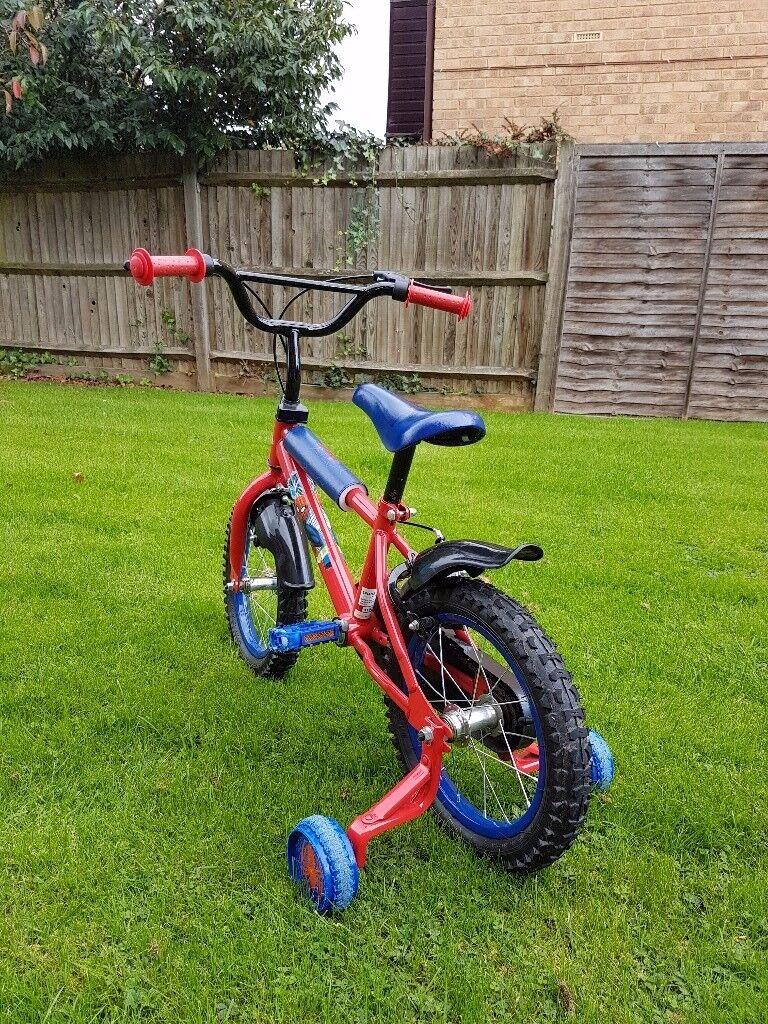 Spider man kids bike 14inch