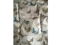 Voyage game birds oilcloth table cloth