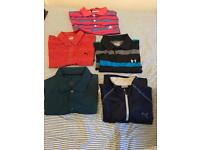 Golf tops and sweater