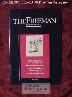 Freeman May 1992 Tibor R Machan Tim W Ferguson Terence Corcoran James L Payne