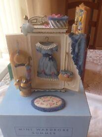 Avon dolls house wardrobes