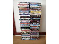 100 DVDs - movies, tv series, comedy & more!