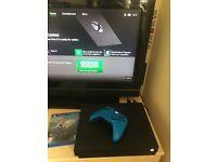 Xbox one X 1tb version black