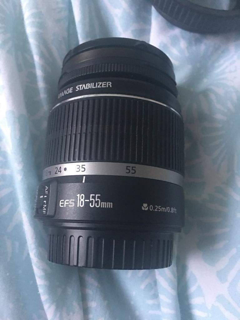 Canon EFS fit 55-250mm IS lense