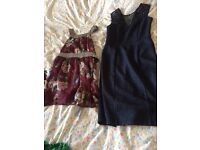 Women's clothes and jewellery