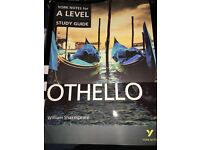 York Notes for A-Level - Othello Study Guide