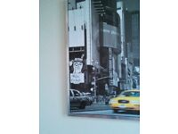 Chrome framed IKEA picture. Nonsmoker. Excellent condition .