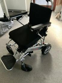 ELECTRIC WHEELCHAIR AS NEW
