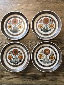 Denby Langley Side Plates x 4