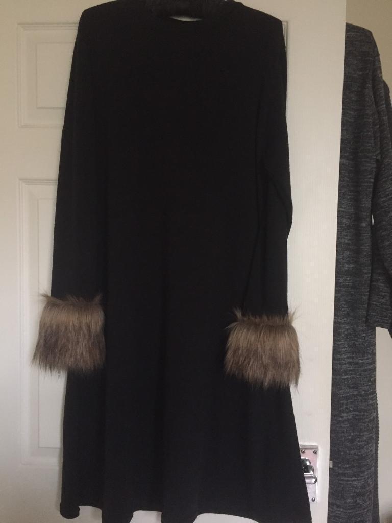 Jumper capes and cardigan