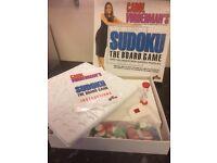 Carol Vorderman Sudoko Board Game
