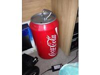 Mini coco cola fridge