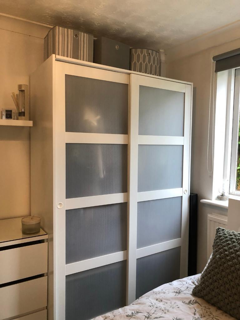 info for a705f e9d1a IKEA KVIKNE wardrobe   in Sudbury, Suffolk   Gumtree