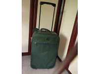 Green suitcase