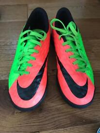 Nike Astro turf football boots size 6