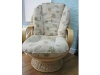 Delux Conservatory Rocking Chair from the Surf Range of Furniture (Pesto Pattern)