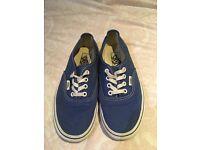 Vans (blue) size 6