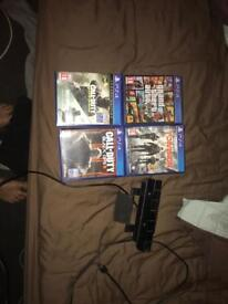 PS4 camera and games