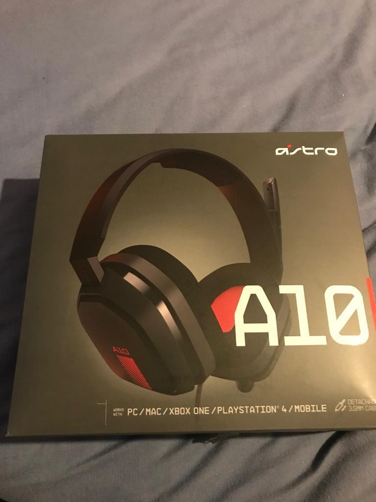 Astro A10 Gaming Headset Xbox One Ps4 In Shirehampton Bristol