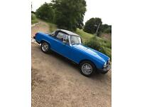 MG Midget in beautiful condition