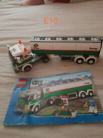 Lego gas lorry with instructions