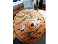 BAMBOO AND PAPER CHINESE UMBRELLA/PARASOL