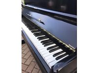 Kemble black gloss upright piano|Belfast Pianos |free delivery