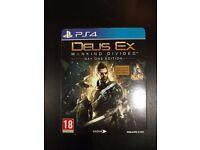 Deus Ex Mankind Divided - PS4 Steelbook Day One Edition