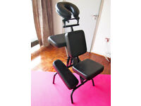 Portable massage chair / onsite / accupressure massage with bag 7.3kg