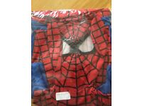 Brand new spiderman full costume